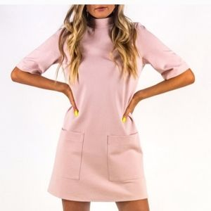 New Free People Blush Mini Dress XS